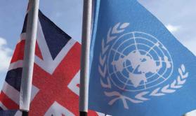 UN+EU Flag