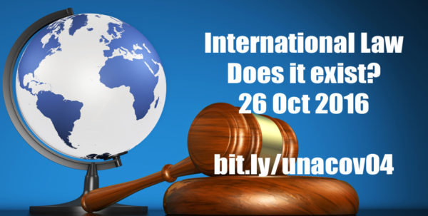 International Law - Does it Exist?