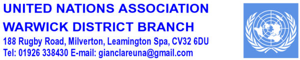Warwick District UNA Branch Social Event